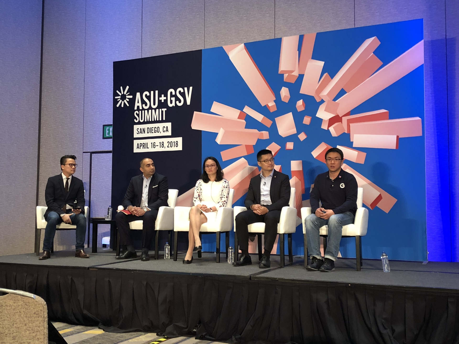 CES attended 2018 ASU-GSV Summit
