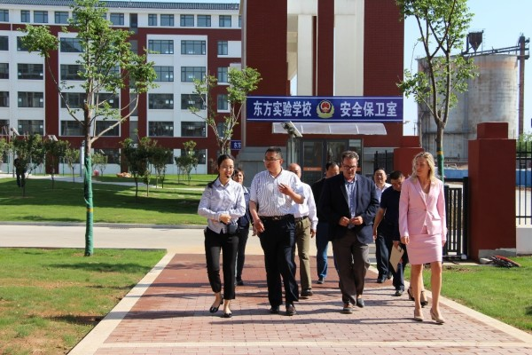 2018 American School Delegation Visits China